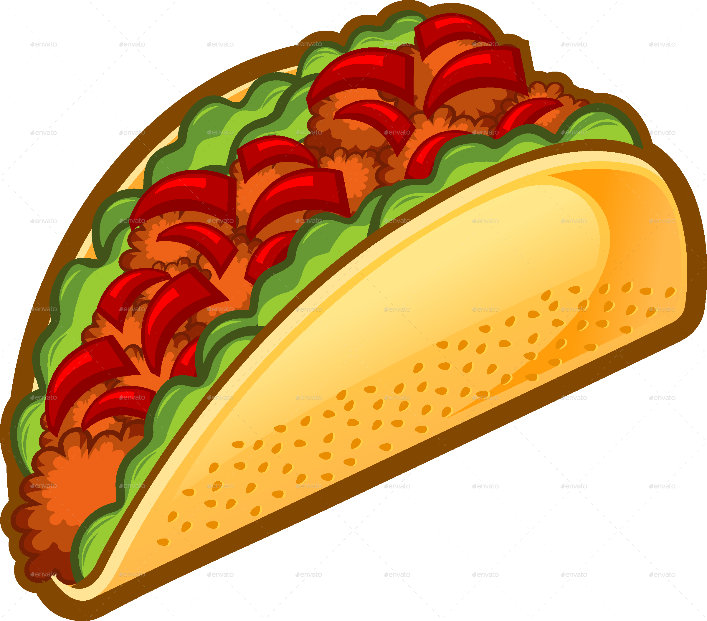 taco by rockdoodle graphicriver