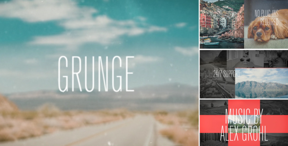 VideoHive Dynamic Grunge Opener 19158765