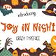 Joy in Night - Halloween Typeface