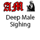 Male Sighing