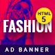 GWD  | Fashion discount HTML Banner 02
