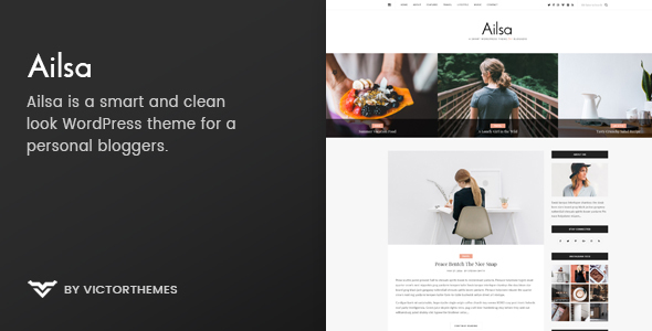 Download Ailsa - Personal Blog WordPress Theme nulled download