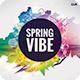 Spring Vibe CD Cover Artwork