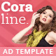 Coraline - Fashion HTML5 Ad Template