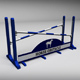 Horse jump obstacle 05