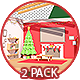 Cozy Xmas Room Transition - 2 Pack