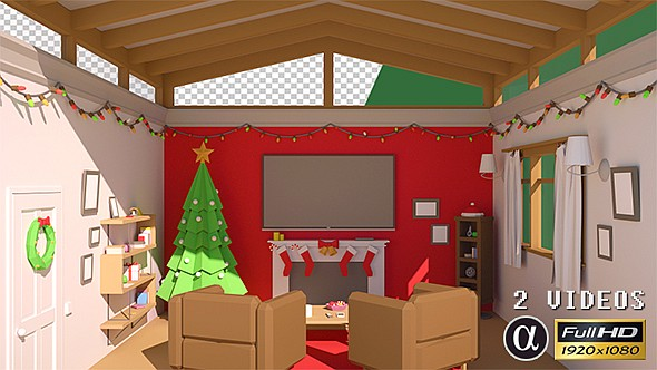Download Cozy Xmas Room Transition - 2 Pack nulled download