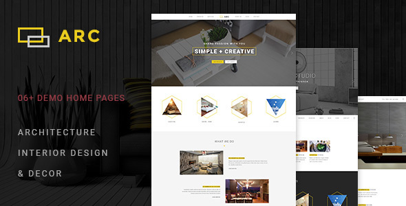 Download ARC - Interior Design, Decor, Architecture WordPress Theme nulled download