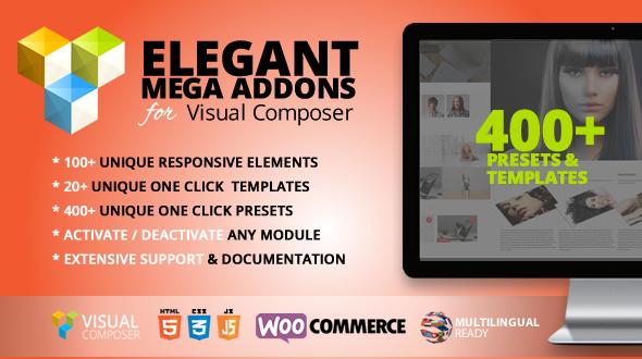 Elegant Mega Addons for Visual Composer - CodeCanyon Item for Sale
