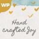 Hand-crafted Joy WordPress Theme