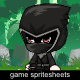 The Dark Ninja Sprite Character
