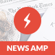 AMP News Mobile | Google AMP Mobile Template