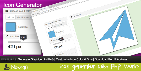 Download Icon Generator nulled download