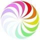 Rainbow Spinner Loader - SVG Animation