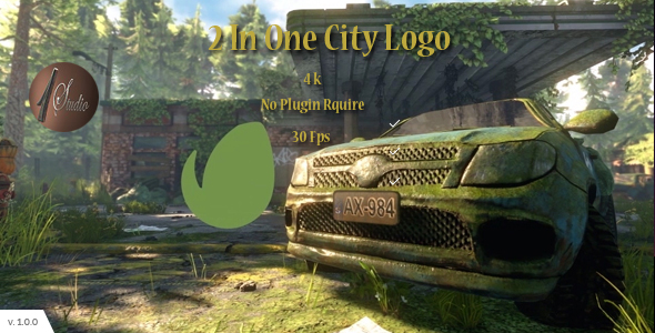 Download 2 In One City Logo nulled download