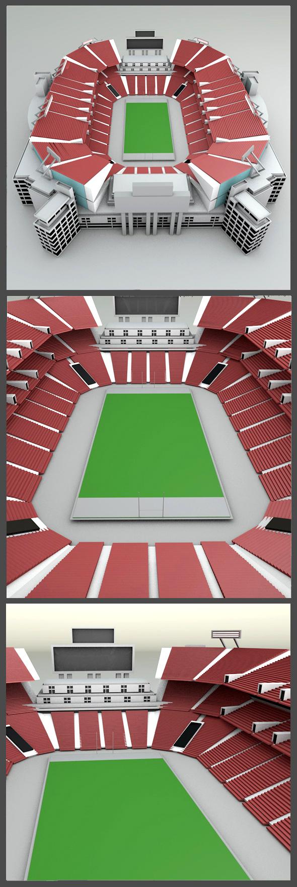 3DOcean Raymond James Stadium 19165872
