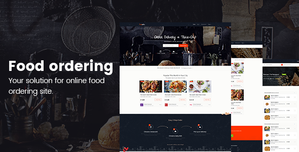 Online food ordering from local restaurants - Restaurants directory