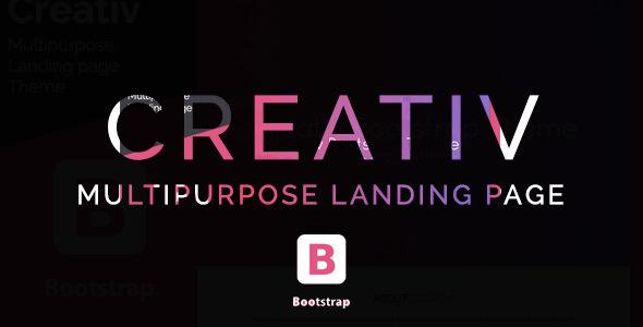 Creativ- Landing Page Multipurpose Theme