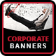 Corporate Marketing Banners - HTML5 Animated GWD