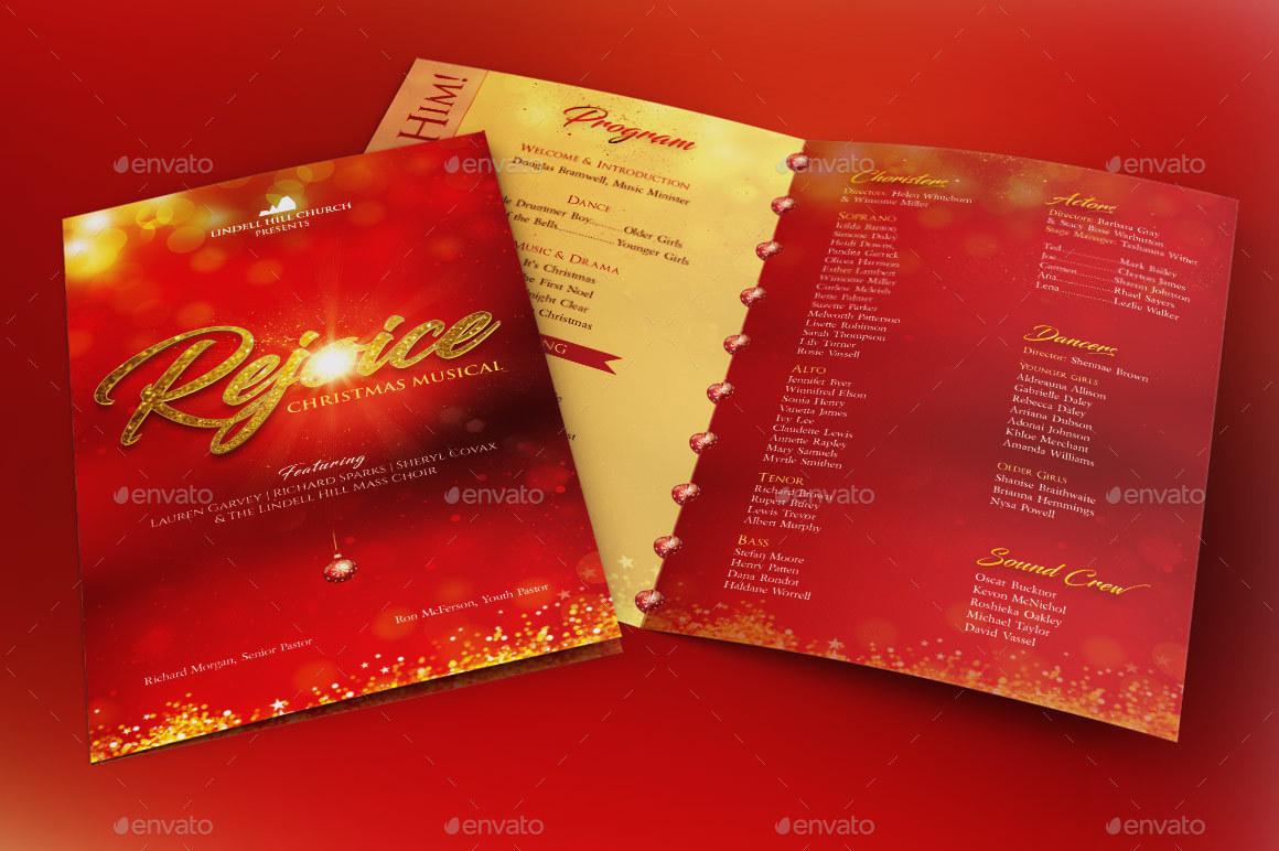 rejoice christmas cantata program template by godserv graphicriver preview image set rejoice christmas cantata program preview 1 jpg preview image set rejoice christmas cantata program preview 2 jpg