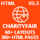 CharityFair - Nonprofit, Crowdfunding & Charity HTML5 Template