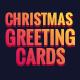 Merry Christmas Greeting Card - 06 PSD [02 Size Each - 7x5 & 5x7]