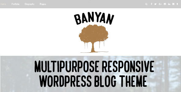 Banyan - Multipurpose Responsive WordPress Blog Theme