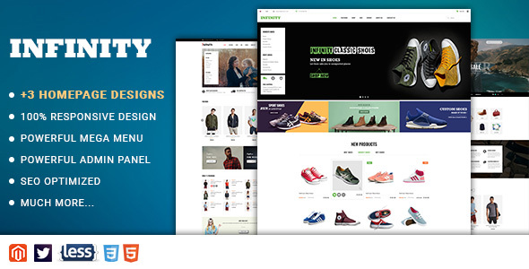Download Infinity - Responsive Magento 2 Fashion Store Theme nulled download