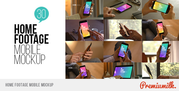 Download Home Footage Mobile Mockup nulled download