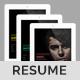 Interactive Resume / CV Template