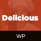 Restaurant WordPress Theme - Delicious