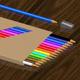 Color pencils set