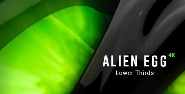 Download Alien Egg Lower Thirds nulled download