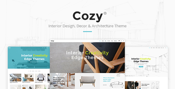 Download Cozy - Interior Design, Decor & Architecture Theme nulled download