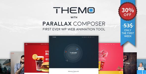Themo – Creative Responsive Multi-purpose WordPress Theme (Creativo)
