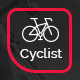 Cyclist's Adventure Story Website Template
