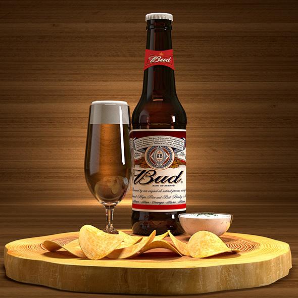 Beer set - 3DOcean Item for Sale