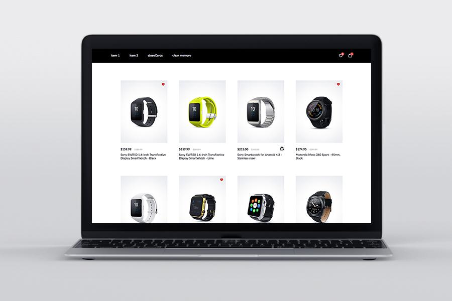 NanoCard - Responsive UI e-commerce Shopping items (cards) - 5