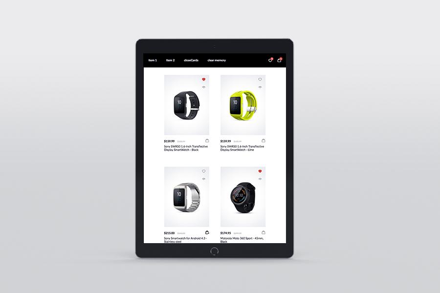 NanoCard - Responsive UI e-commerce Shopping items (cards) - 6