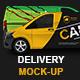 Mercedes Vito Delivery Van Mock-Up