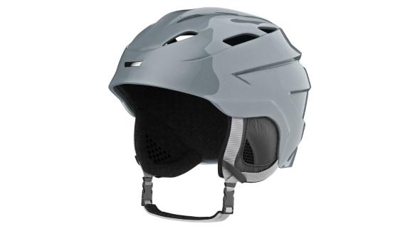 Download Helmet Ski Gray Metallic nulled download