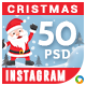 Christmas Instagram Templates - 50 Designs