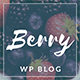 Berry - A Fresh Personal Blog Theme