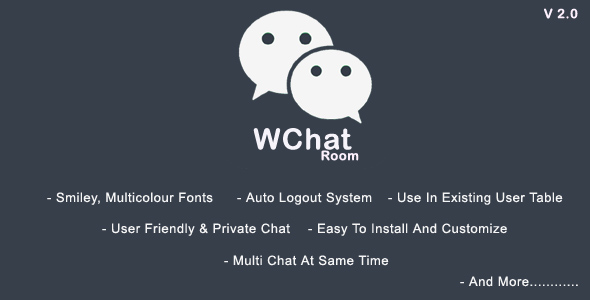 Download WchatRoom - PHP/AJAX Chatroom nulled download