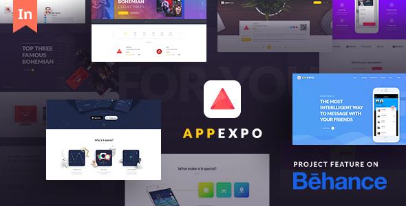 Download AppExpo - Multipurpose Application WordPress Theme (App Showcase, Appstore)