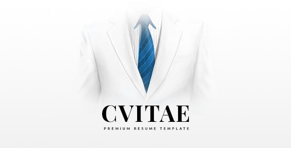 CVitae - Responsive Joomla Resume Template