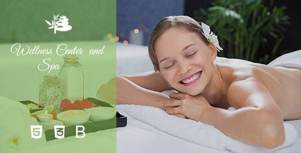 Lisa - Wellness Center, Spa and Beauty Salon Template