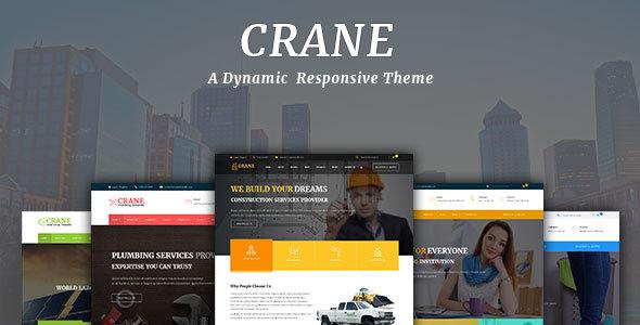 Download Crane - Multipurpose WordPress Theme