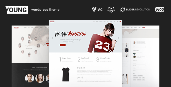 Download Young – WordPress Fashion Portfolio Theme nulled download