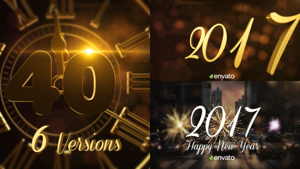 Download New Year Countdown 2017 | Gold & Silver nulled download
